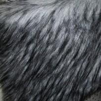 Мех искусственный Енот серый (метр )
