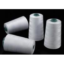 Нитки швейные белые 40(2) Евростиль (3700м) (12 штук)