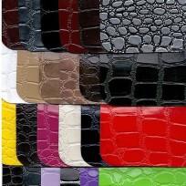 Ткань искусственная кожа крокодил нетканка (метр )