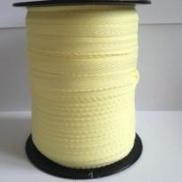 Тесьма лента  киперная 10мм №108 желтый (250 м)