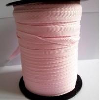 Тесьма лента  киперная 10мм №133 розовый (250 м)