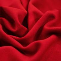 Ткань трикотаж креп-дайвинг красный (метр )