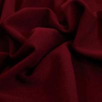 Ткань трикотаж креп-дайвинг бордовый (метр )