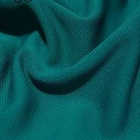Ткань трикотаж кукуруза голубая бирюза (метр )