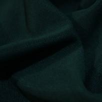 Ткань трикотаж оттоман (рубчик) зеленый (метр )