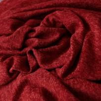 Тканьтрикотаж софт меланж красный (метр )