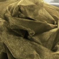 Ткань фатин средней жесткости бежевый (метр )