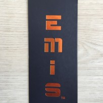 Этикетка картонная 5смх10см EM под заказ (1000 штук)