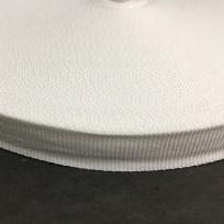 Тесьма репсовая тж 15мм белая (50 метров)