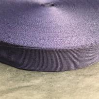 Тесьма репсовая тж 25мм синяя (50 метров)