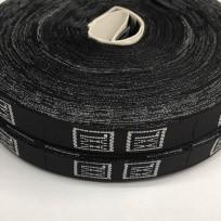 Размерная лента (тканная) черная XXL (1000 штук)