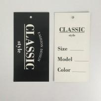 Этикетка картонная 5х10см Classik Style design (1000 штук)