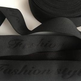 Резинка с логотипом Fashion Style 40мм HD качество (метр )