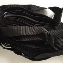 Тесьма брючная черная (25 метров)