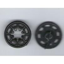 Кнопка пластиковая пришивная 20 мм  (1000 штук)
