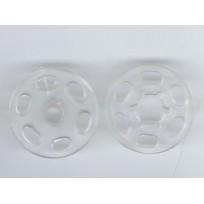 Кнопка пластиковая пришивная 25 мм  (1000 штук)
