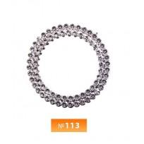 Кольцо пластиковое №113 никель 3 см (250 штук)
