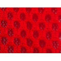 Сетка обувная на поролоне (красный) (метр )