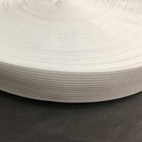 Тесьма окантовочная (лямовка) 18мм белая (1000 метров)