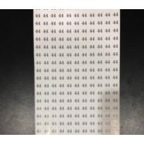 Размеры клеевые (320 на листе) (лист)