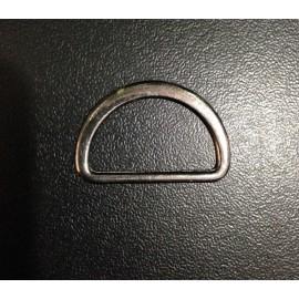 Полукольцо металл 2,5 см плоское  (200 штук)