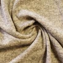 Ткань трикотаж ангора софт бежевый (метр )