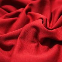 Ткань трикотаж джерси красный (метр )