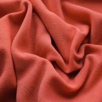 Ткань трикотаж креп кирпичный (метр )