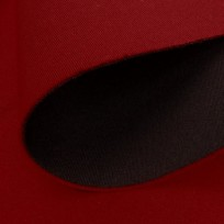 Ткань трикотаж неопрен двусторонний красный+черный (метр )