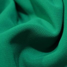 Ткань трикотаж оттоман (рубчик) бирюза (метр )