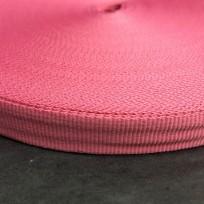 Тесьма репсовая тж 15мм розовый (50 метров)