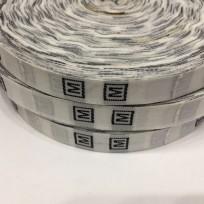Размерная лента (тканная) белая M (1000 штук)