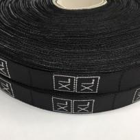 Размерная лента (тканная) черная XL (1000 штук)