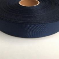 Тесьма репсовая 30мм синяя (100 метров)