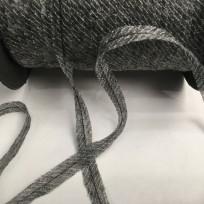 Долевик клеевой нитепрошивной с ниткой 12мм серый (250 м)