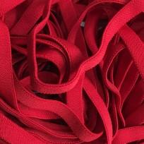 Резинка 15мм красная обувная плотная (метр )