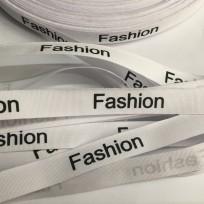 Этикетка ХБ 15мм Fashion белый (100 метров)
