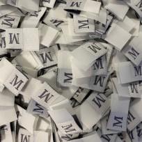 Размер жаккардовый 10 мм бежевый серый M (1000 штук)