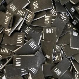 Размер жаккрдовый 10 мм черный белый UNI (1000 штук)